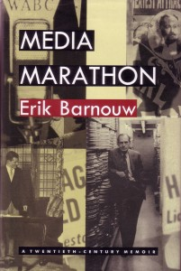 Erik Barnow book Media Marathon cover