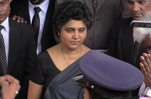 Sri Lankan Chief Justice, Shirani Bandaranayake