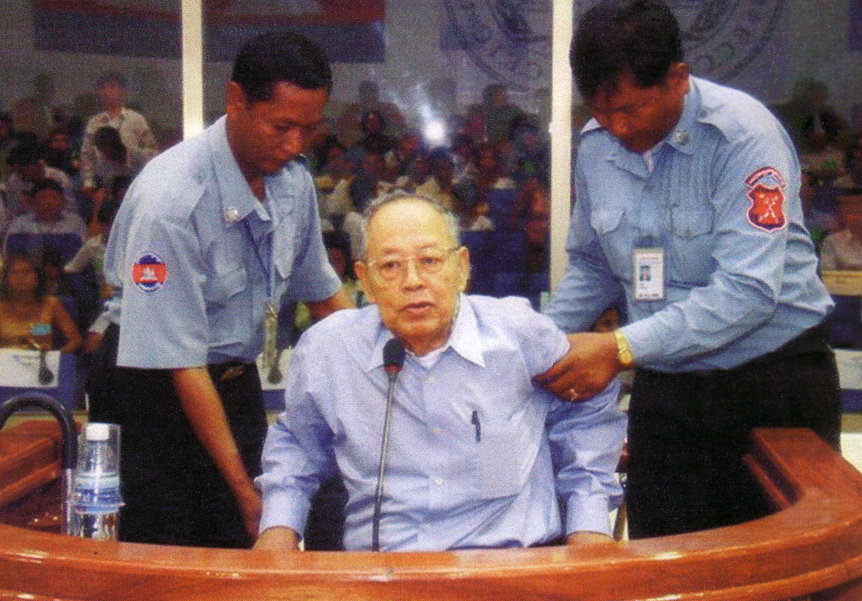 Ieng Sary Khmer Rouge leader 2008 Reuter photo