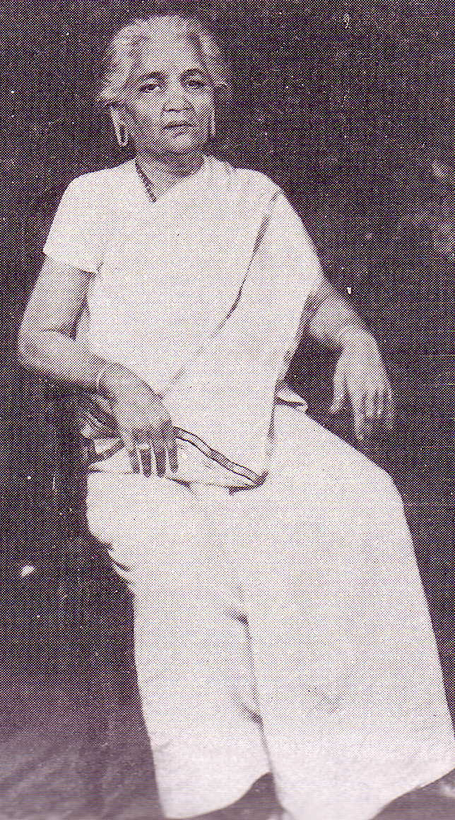 MGR mother Sathyabama