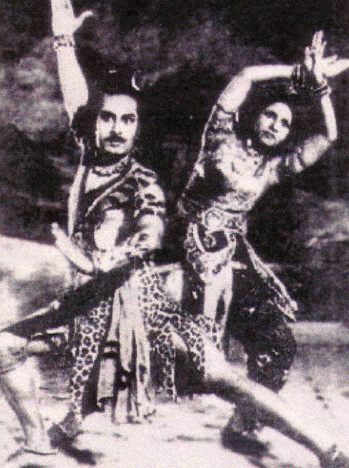 MGR as Lord Shiva in Sri Murugan movie