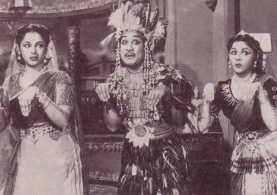 Thookku Thooki movie with Ragini, Sivaji Ganesan and Padmini
