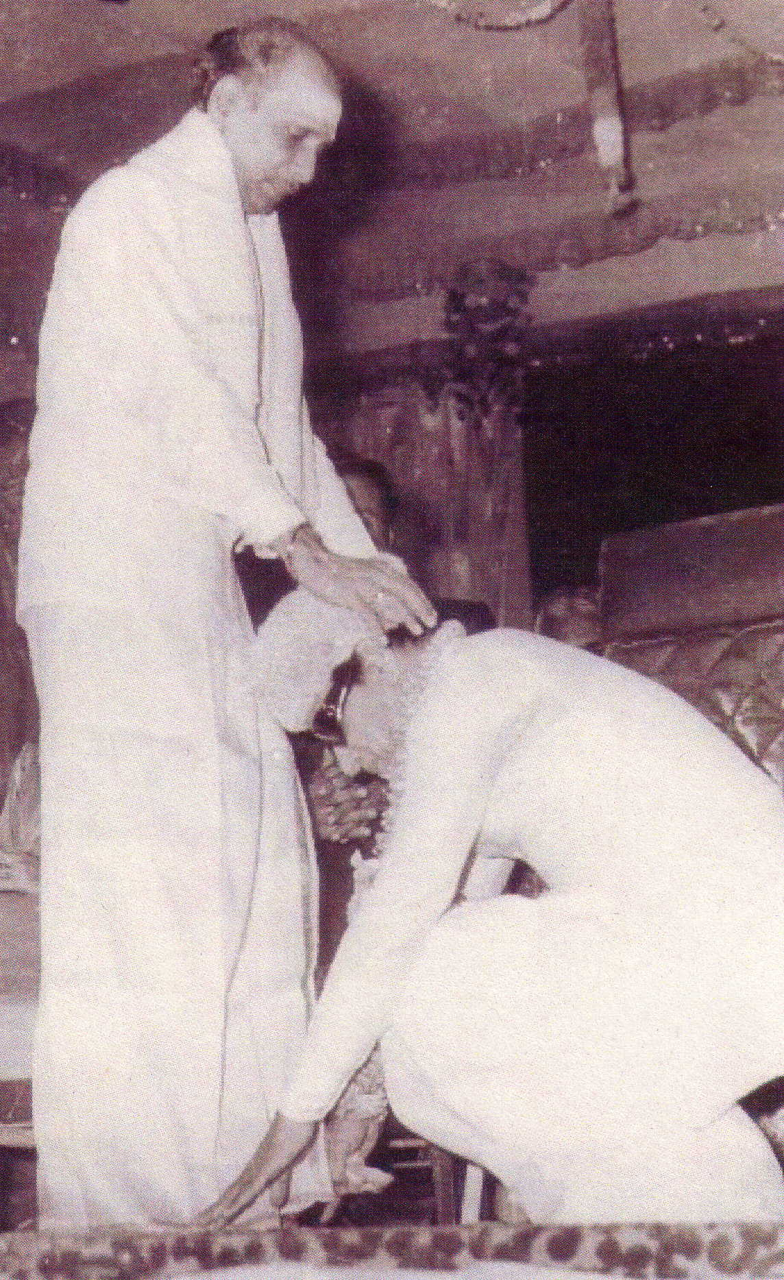 MGR greeting M.K. Radha in a public function