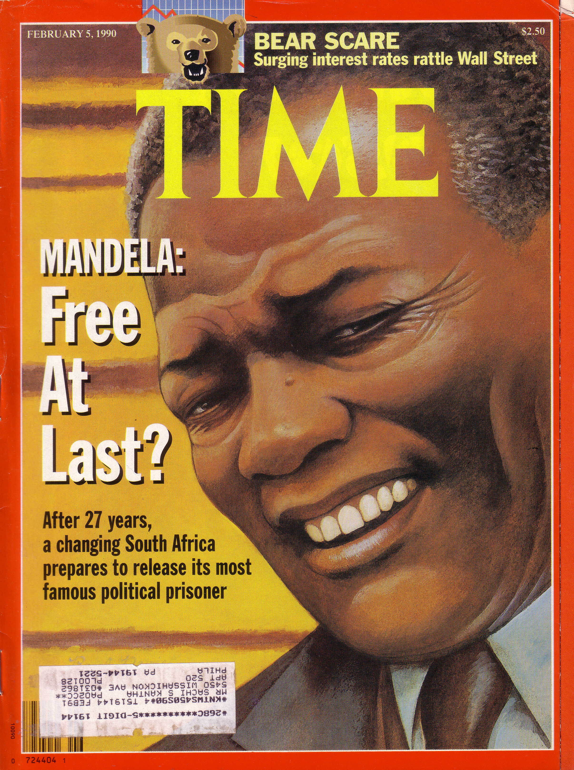 Mandela cover TIME Feb 5 1990