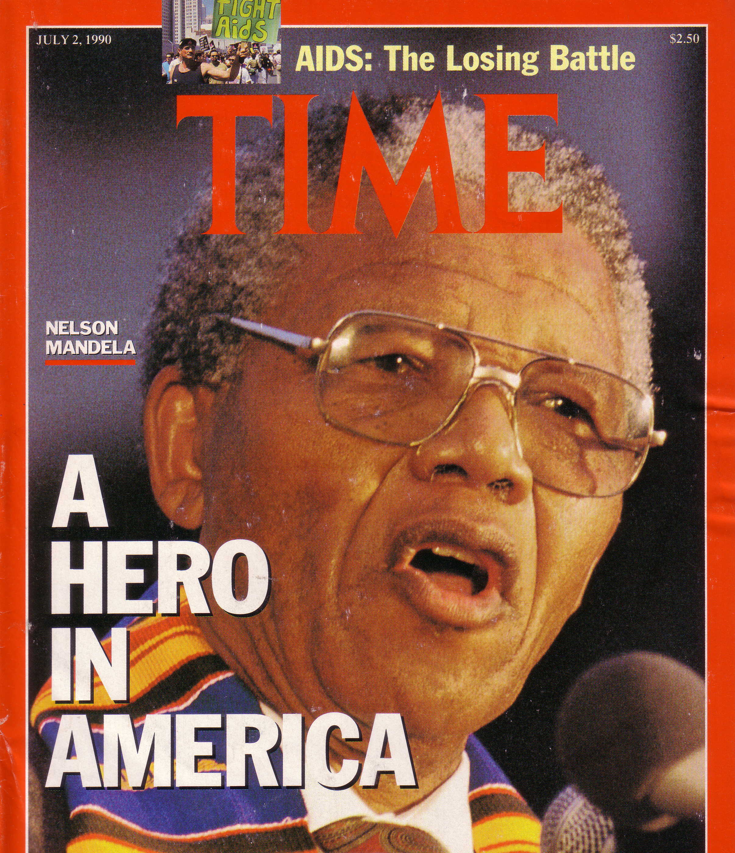 Time Mandela cover July 2 1990