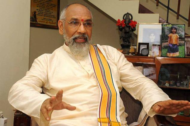 File photo of Chief Minister of Sri Lanka's Northern Provincial Council C.V. Wigneswaran.