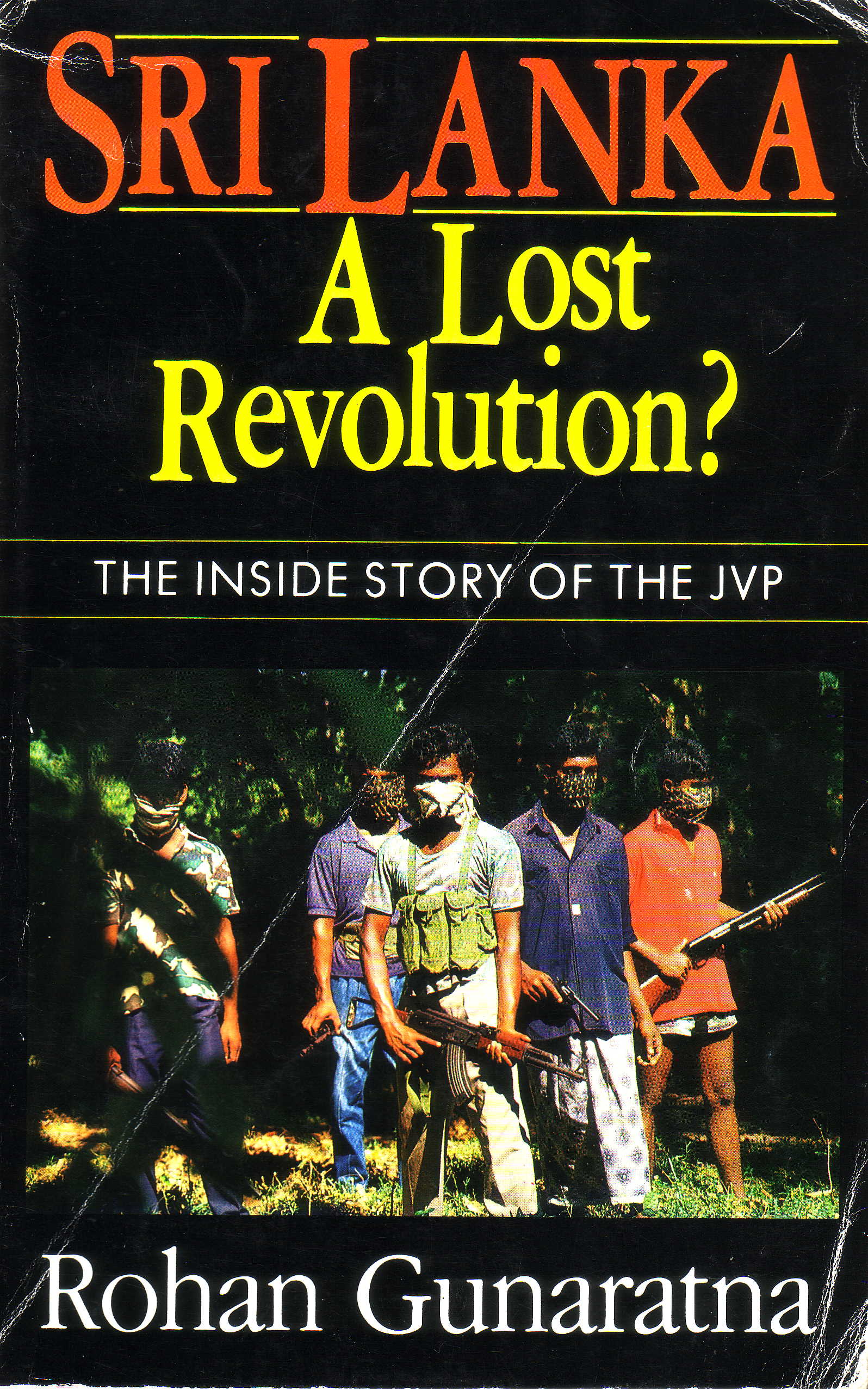Sri Lanka a Lost Revolution book cover
