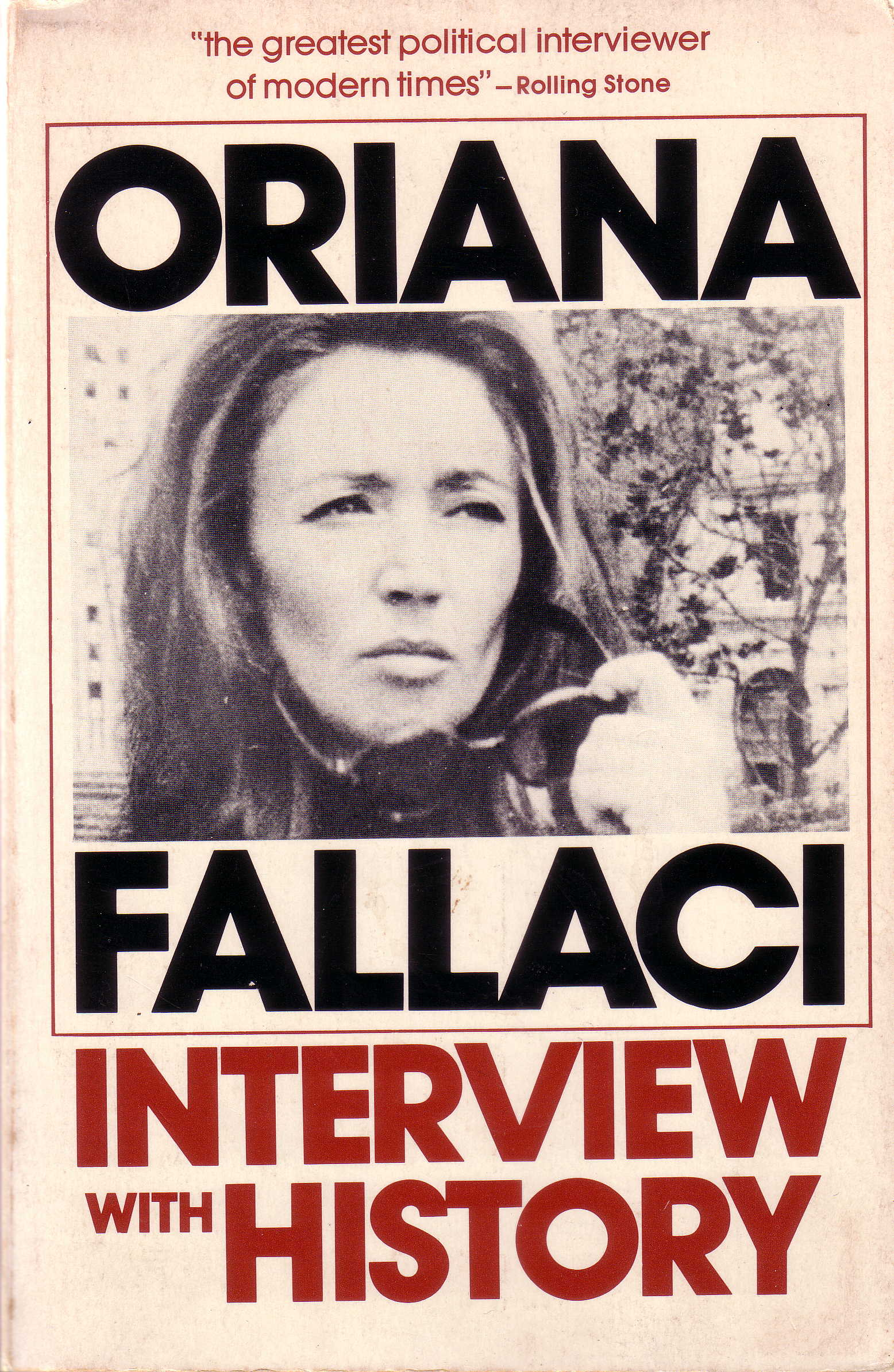 Oriana Fallaci Interview with History book cover