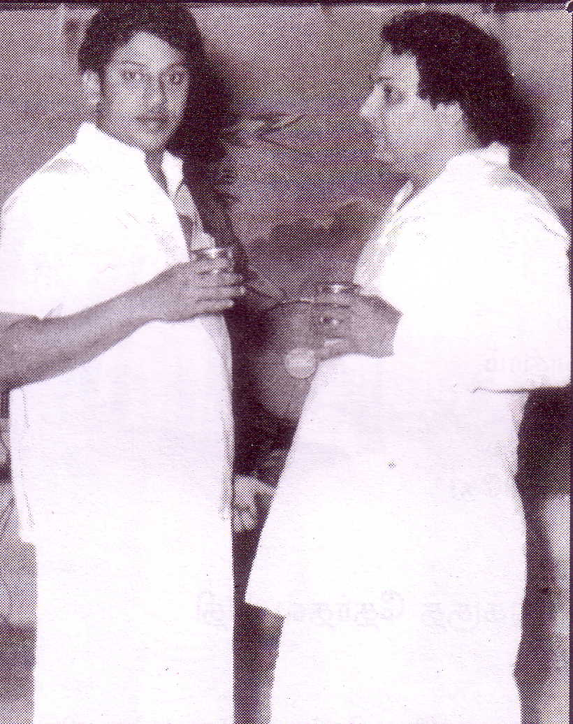 SSR (lt) and MGR (rt) in their salad days