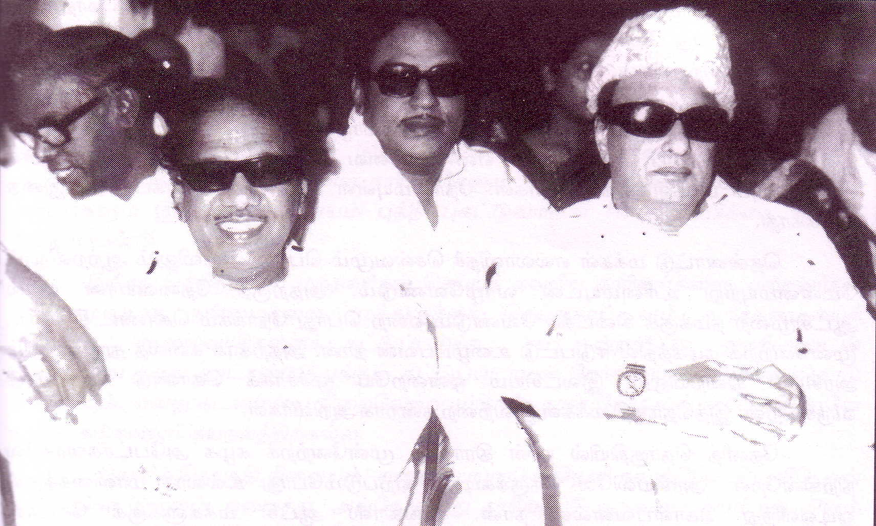 SSR in between Karunanidhi and MGR
