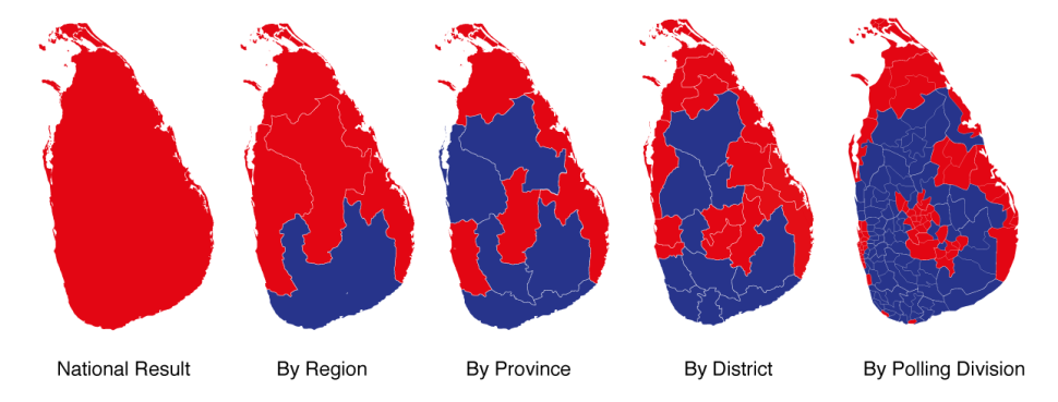 sri-lanka-presidential-election-2015-electoral-maps