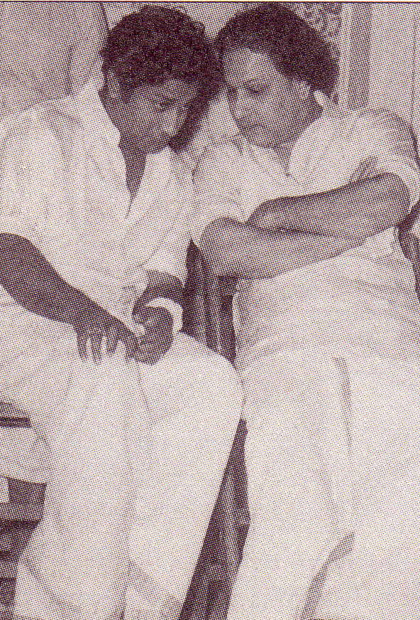 MGR with Sivaji Ganesan - young days