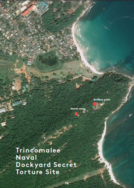 Trinco naval base