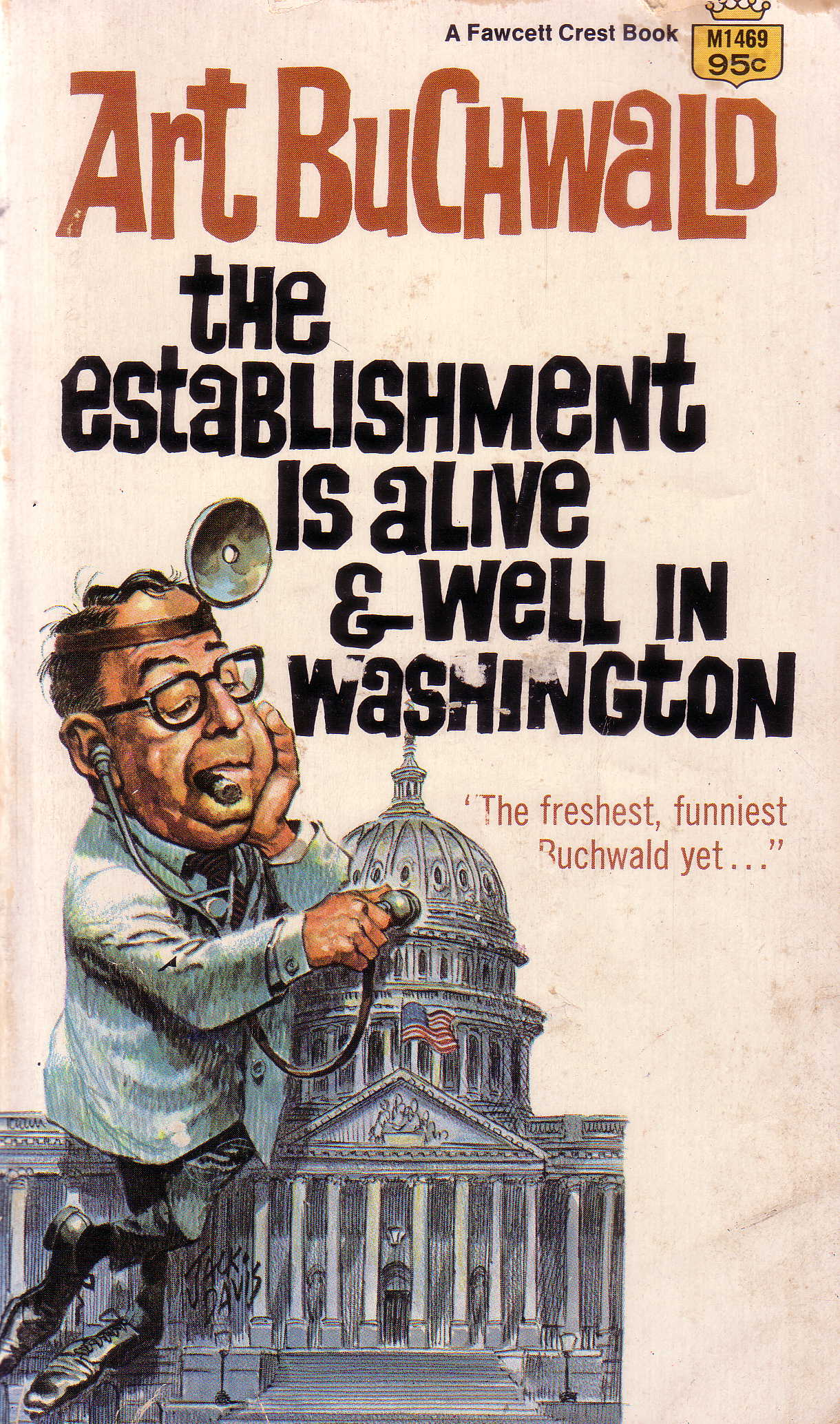 Art Buchwald 'The Establishment' cover