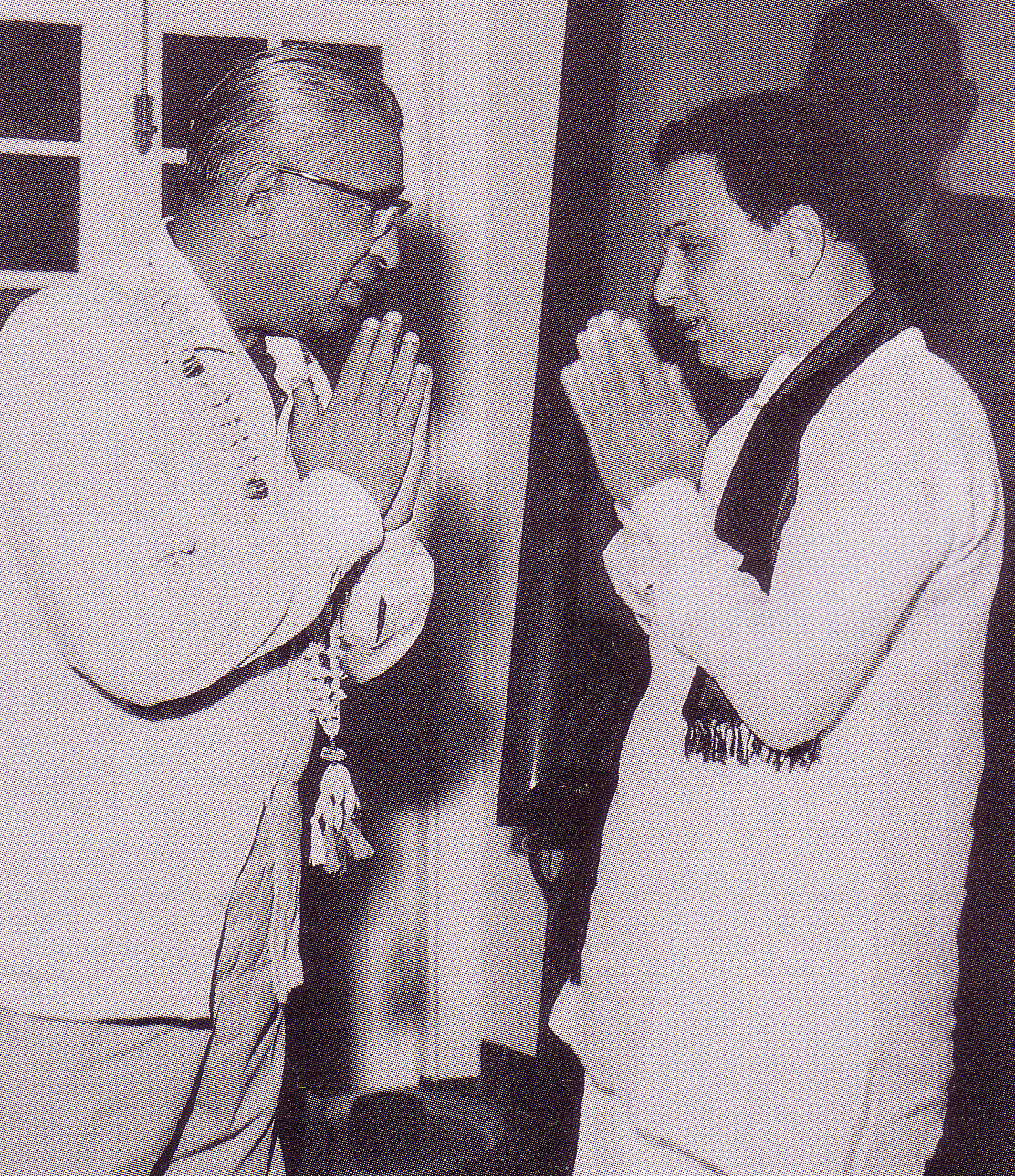 MGR greeting Dudley Senanayake 1965