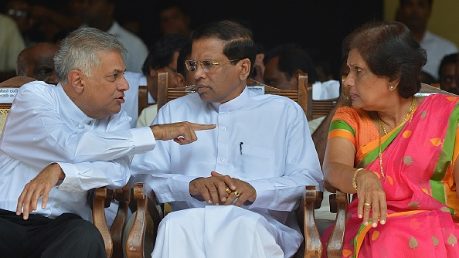 Image result for ranil and maithri
