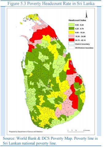 Tamil Areas In Sri Lanka Are The Pockets Of Poverty Ilankai - Poverty in the world 2015