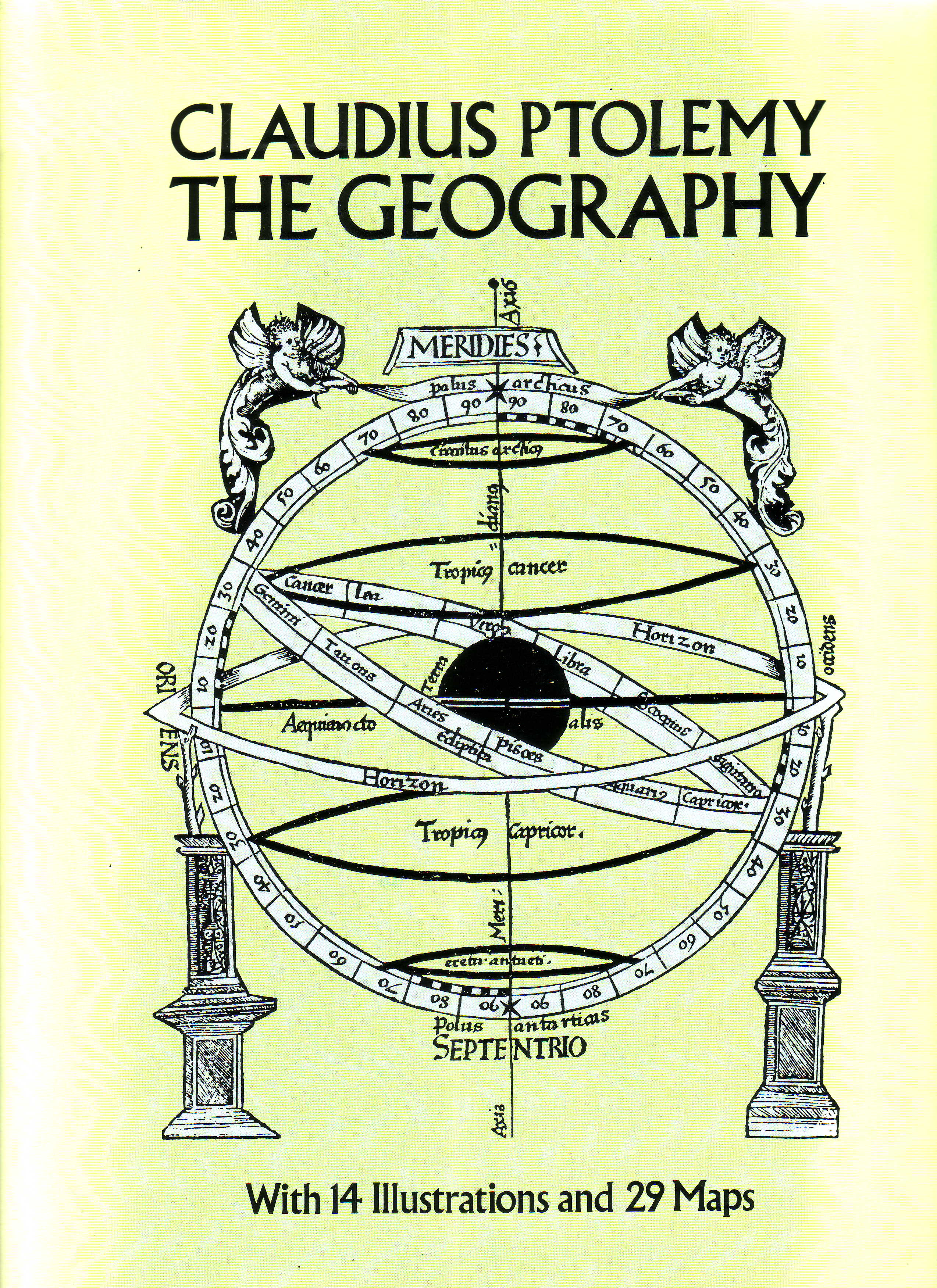 Claudius Ptolemy The Geography front cover