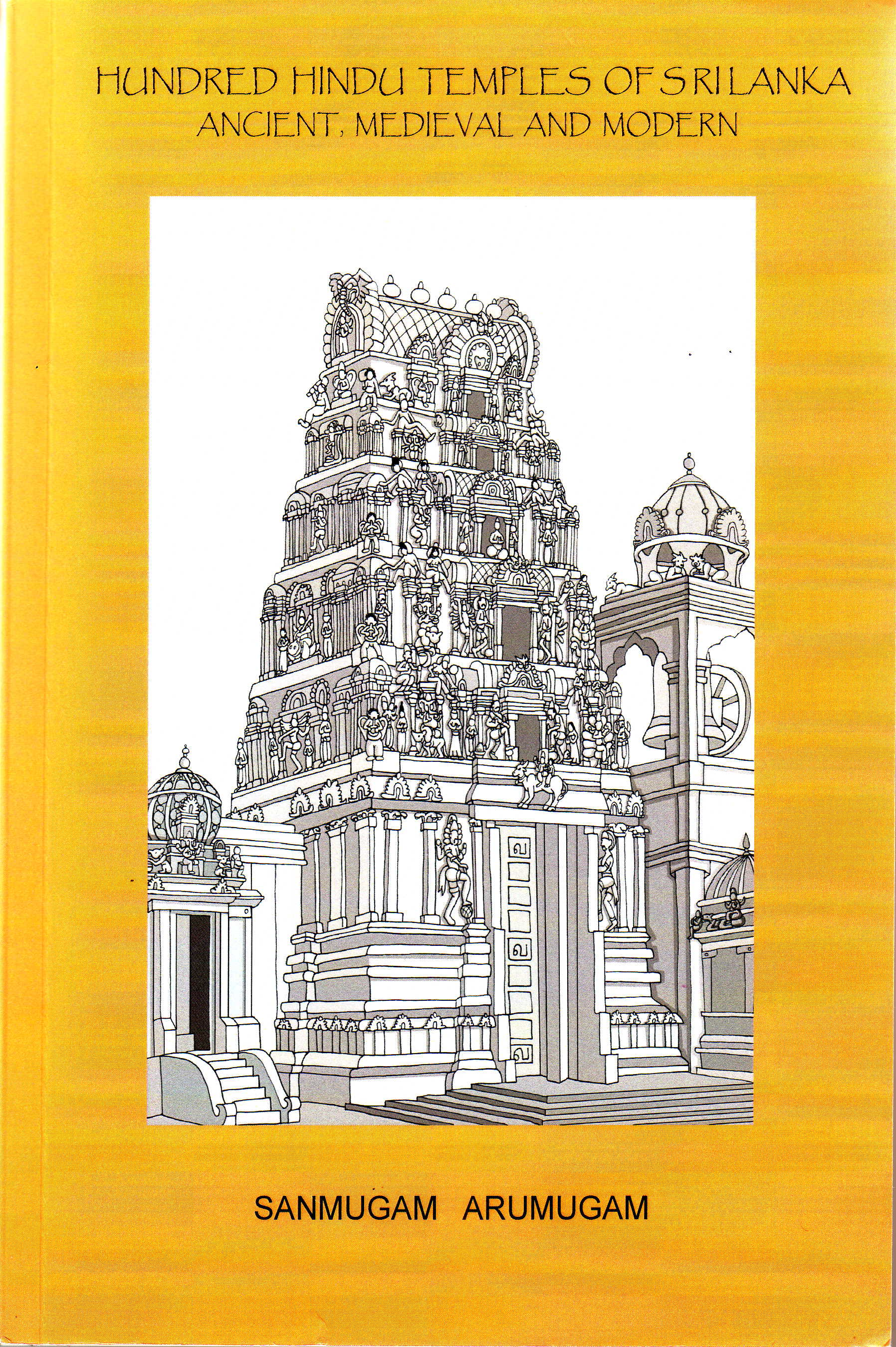 Hundred Hindu Temples of Sri Lanka front cover