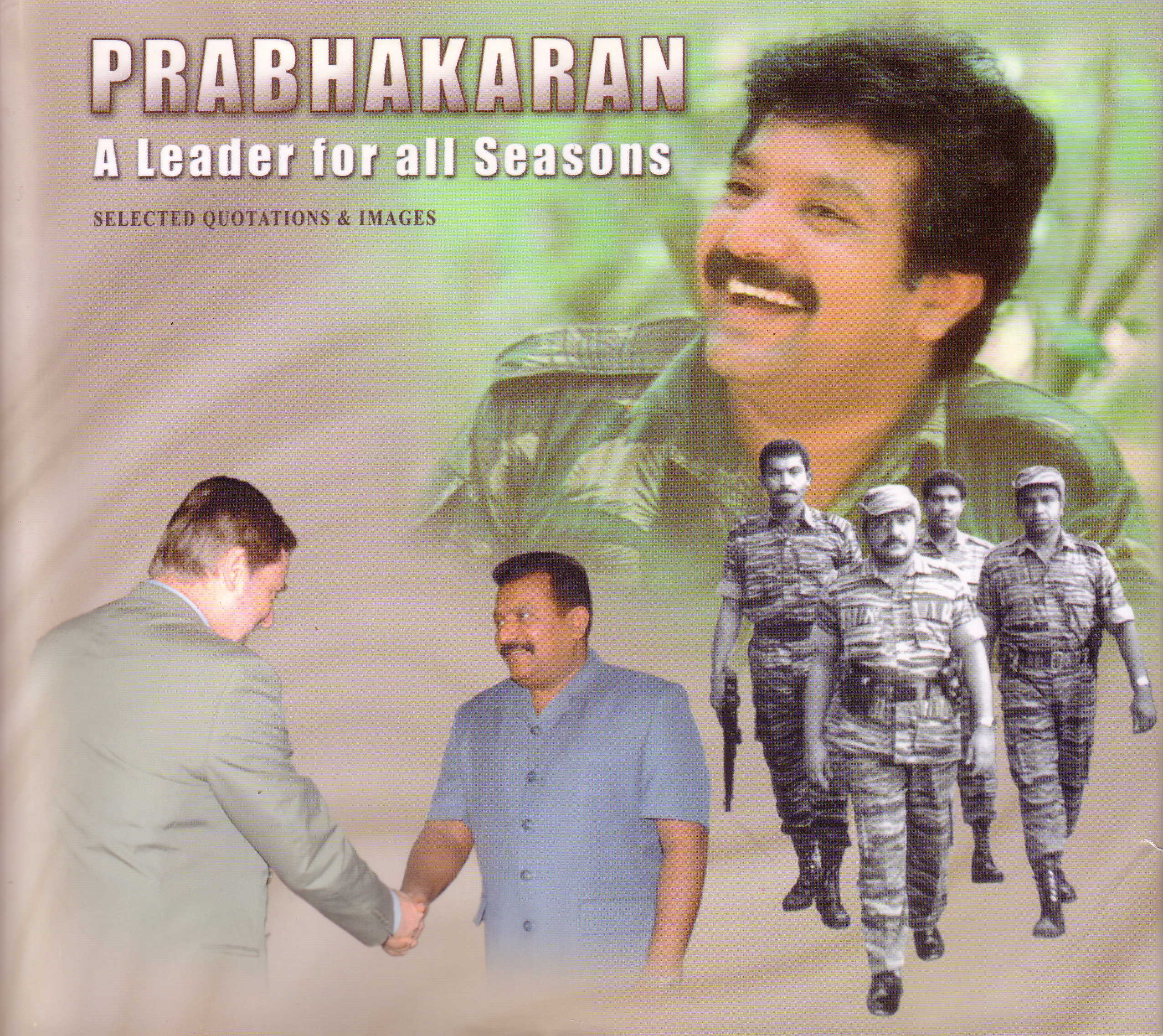 Prabhakaran A Leader (2004 book cover)