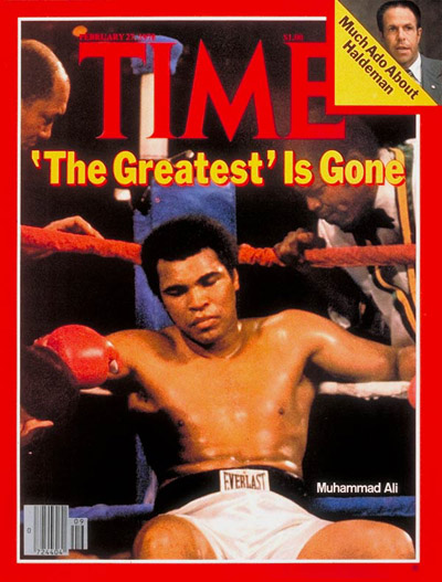 Muhammad Ali TIME magazine cover 1978 Feb 27