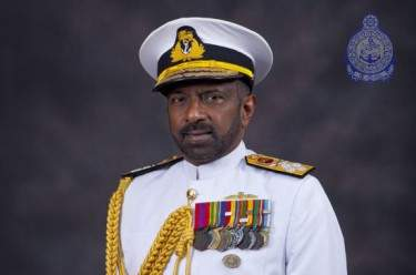 Former Sri Lankan navy chief Adm. Jayanath Colombage. (File photo)