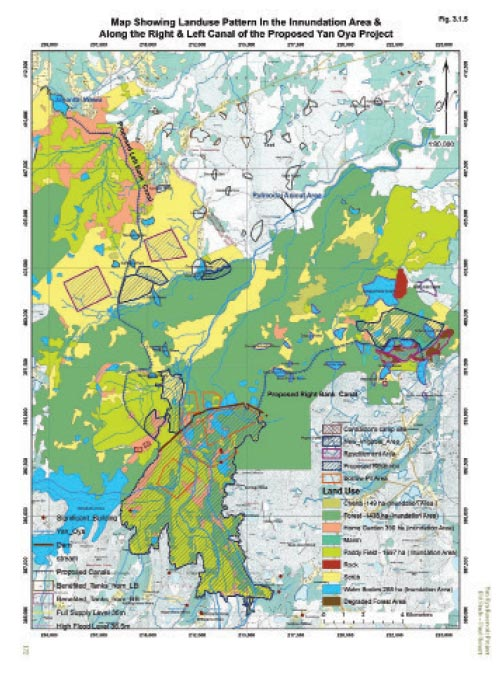 Image result for yan oya project map